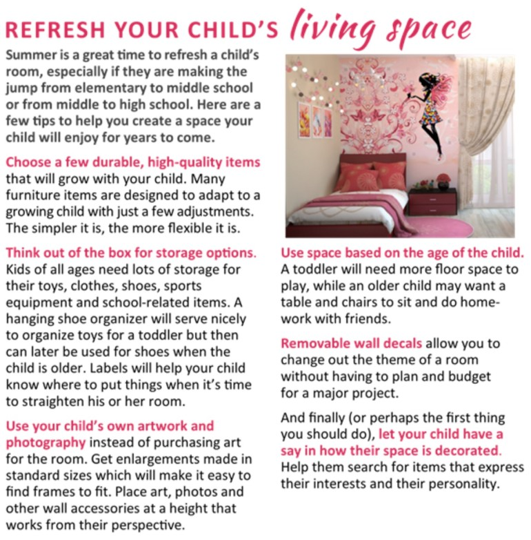 Refresh Your Child's Living Space