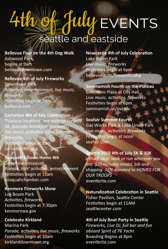 july events around the sound